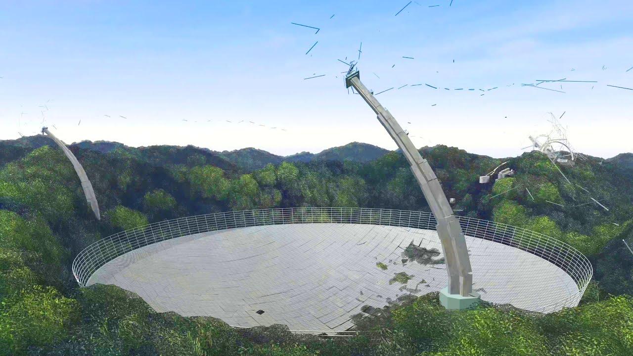 Arecibo Observatory Collapse | Dev Reel
