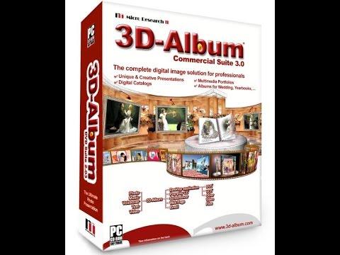 شرح برنامج 3D Album