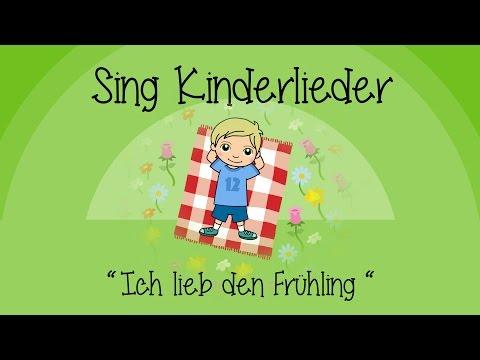 Ich lieb den Frühling (I like the flowers) - Kinderlieder zum Mitsingen | Sing Kinderlieder
