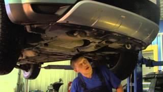видео Замена масла Mitsubishi Outlander