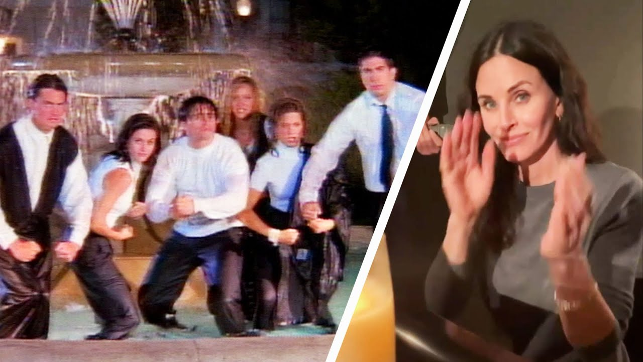 Watch Courteney Cox Cover the FRIENDS Theme Song!