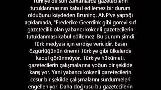 Hollandalı gazeteci Türkiye'de ikinci kez tutuklandı