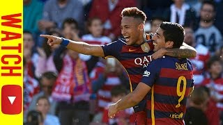 Neymar vs Granada Away 1080i (15/16) | By FutSoccer HD