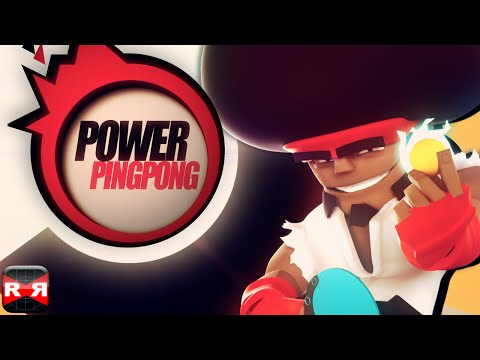 Power Ping Pong (By Chillingo) - iOS / Android - Gameplay Video