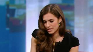 Allison Williams On George Stroumboulopoulos Tonight: INTERVIEW