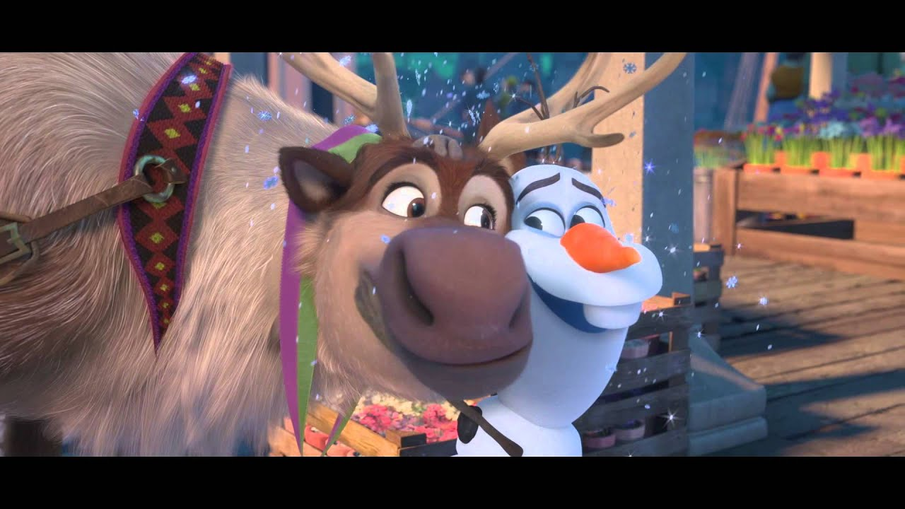 Frozen Sing Along Out Now On Dvd Film The Guardian