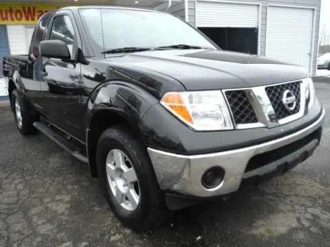 2005 Nissan Frontier 4x4 Se King Cab V6 Manual 6 Speed Sunroof Free