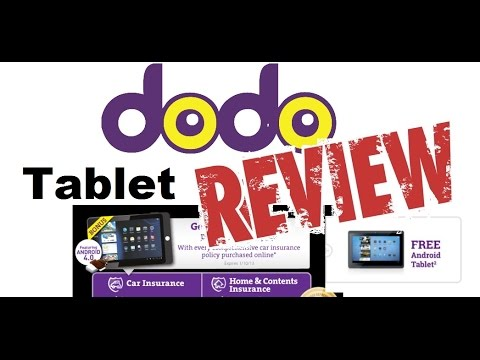 Free Tablet with Dodo Car Insurance, is it worth it?