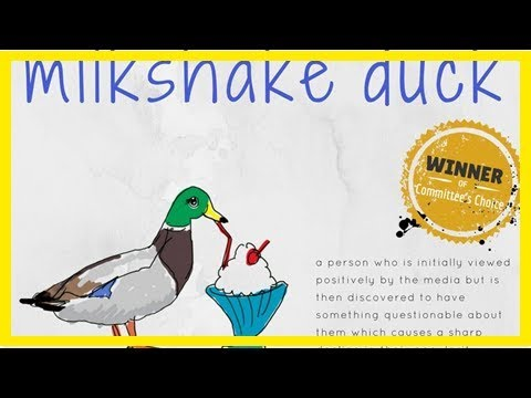 MTV News - The Macquarie Dictionary's word of the year, 'milkshake duck', sums up the social media