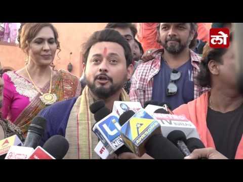 BHIKARI Marathi Movie Swapnil Joshi On Location