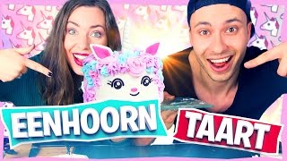 MAKING A UNICORN CAKE! (20FURkitchen) | #Furtjuh