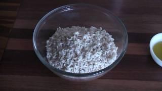 Simple Brown Rice Salad