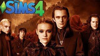 The Sims 4 - ВАМПИРЫ: Сумерки - Создание персонажей (Вольтури)