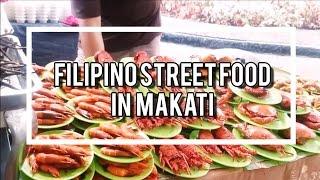 Filipino Street Food in Makati