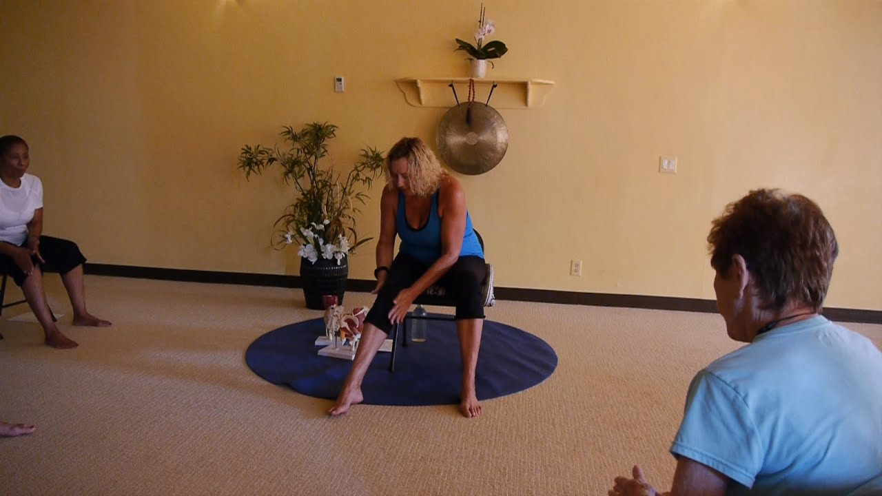 youtube chair yoga wedding covers burton on trent 1 hr class for osteoarthritis relief with justine shelton e ryt500