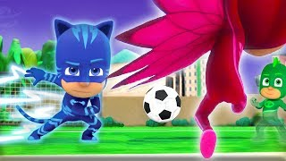 PJ Masks Episodes Football Fever! ⚽️WORLD CUP 2018 Special ⚽️Cartoons for Children thumbnail