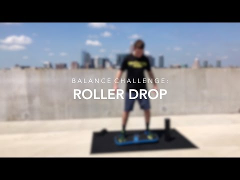 Balance Board Exercise Challenge - The Roller Drop | Revolution FIT