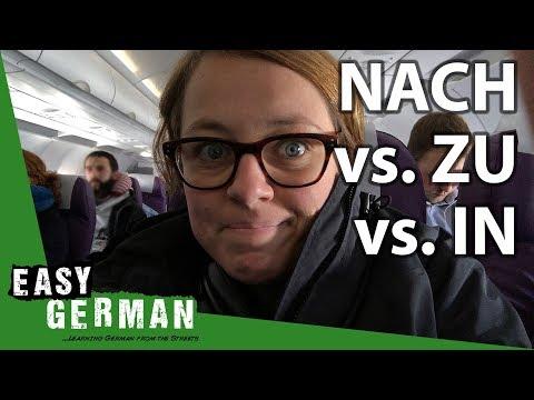 NACH vs. ZU vs. IN | Super Easy German (89)