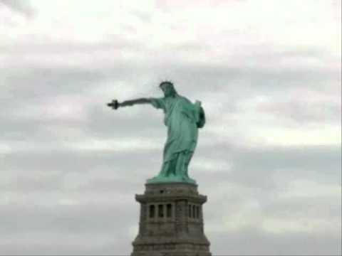 statue of liberty with doppler effect