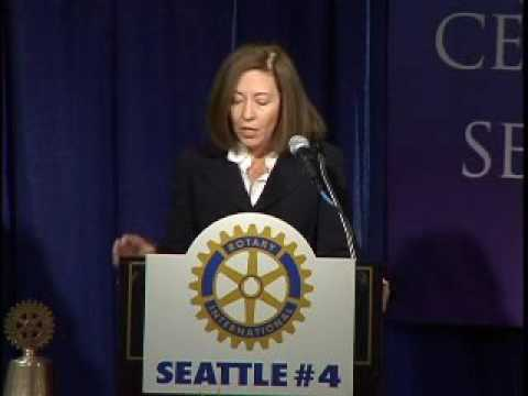Rotary Luncheon October 25th 2006 Maria Cantwell, U.S. Senator