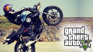AMAZING GTA 5 STUNTS! (GTA V Stunt Montage)