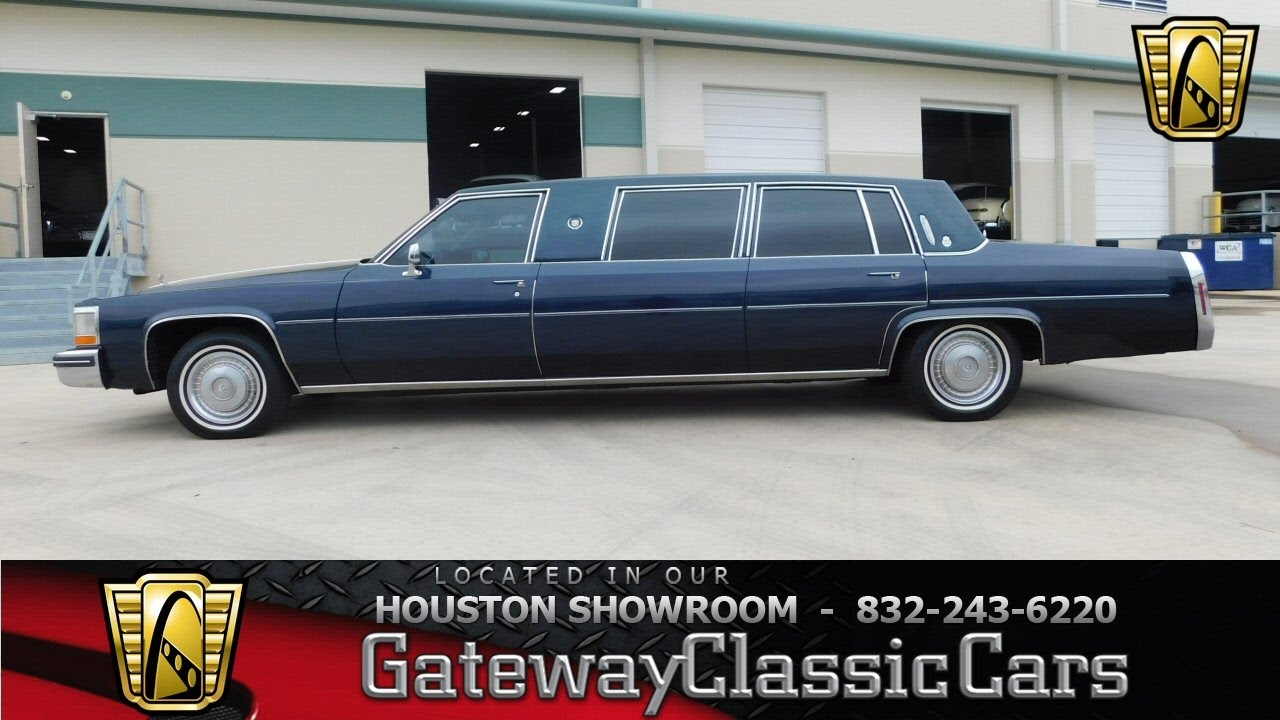1984 cadillac limousine gateway classic cars houston #519 - youtube