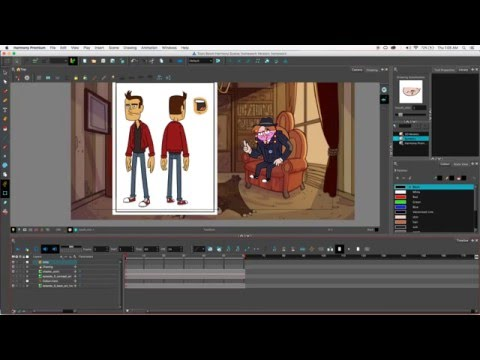 HOW TO RIG A CHARACTER IN TOONBOOM