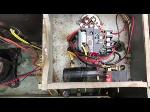 Trane Voyager: No Heat - Improper Transformer Configuration by