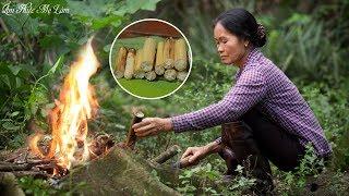 Bamboo-tube Rice With Peanut Salt  (Khao Lam - 竹筒飯) | Mom's Cuisine