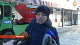 Новые комбинированные дорожные машины выехали на уборку улиц Мурманска(, 2016-02-25T17:14:41.000Z)