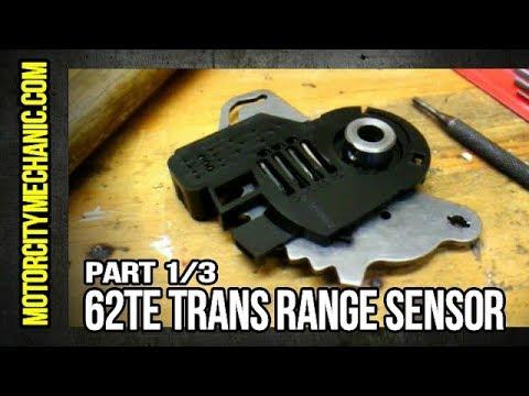Part 1/3: Chrysler/Volkswagen 62TE trans range sensor removal
