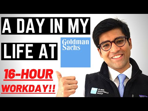 A Day in My Life as a Goldman Sachs Investment Banker in New York City