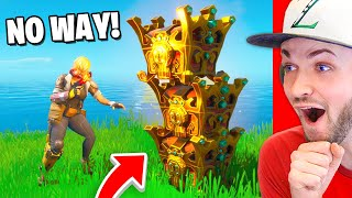 100 *LUCKIEST* Fortnite moments EVER! (CRAZY LUCKY)