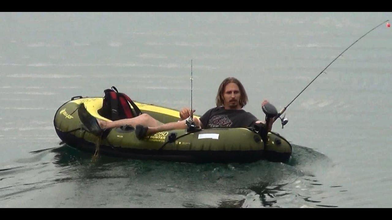 Sevylor Hf 250 Boat 18lb Trolling Motor Review Test