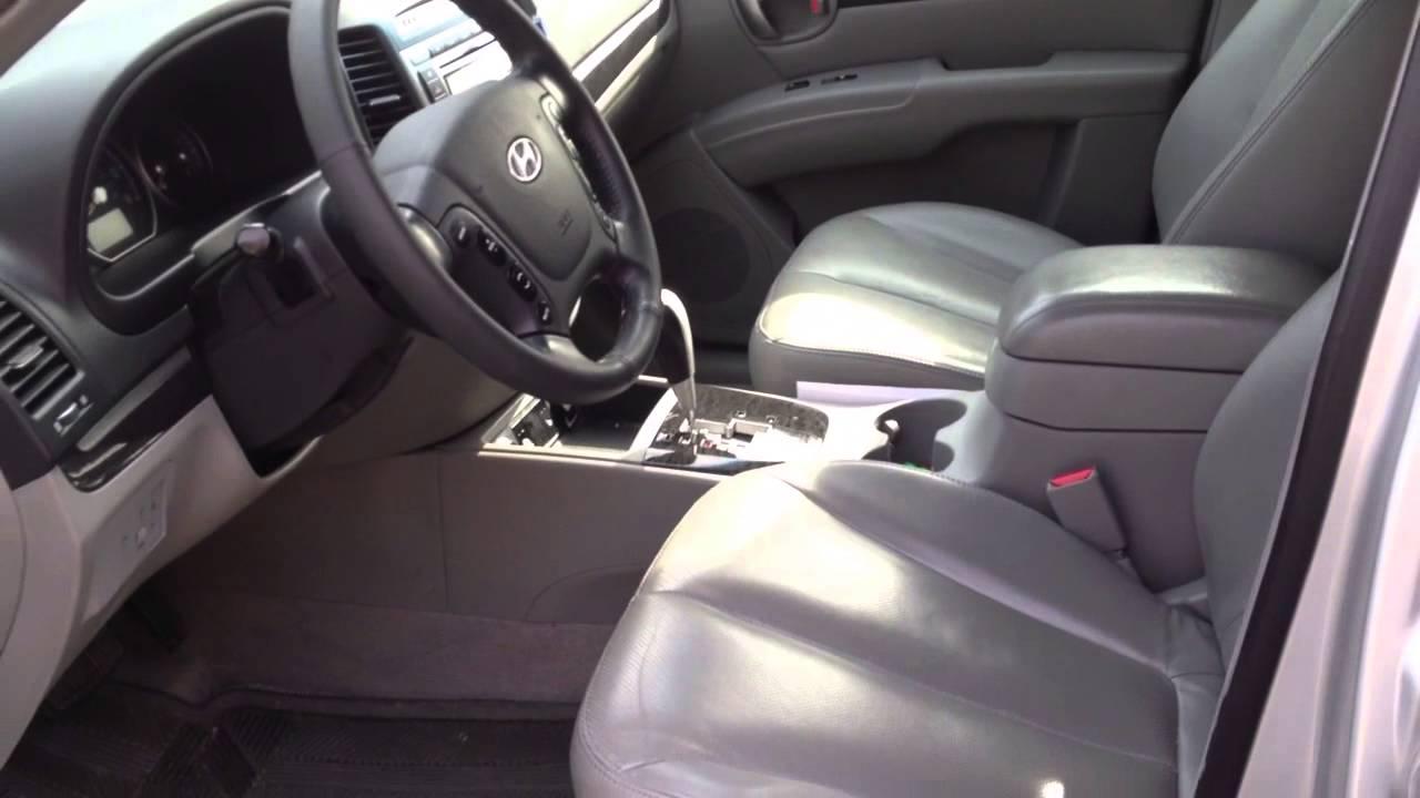 2007 Hyundai Santa Fe Interior Youtube