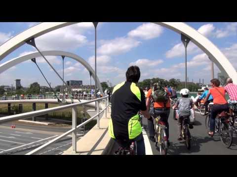 Fahrradsternfahrt Düsseldorf 2015