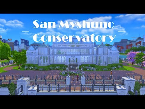 Sims 4 Speed Build: Myshuno Conservatory