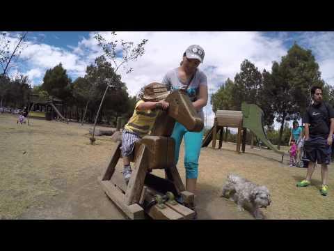 Visiting Metropolitan Park Quito HD GoPro