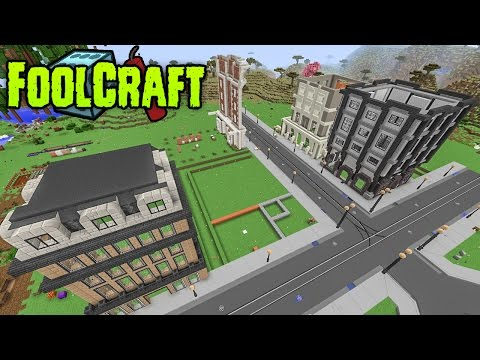 FoolCraft Modded Minecraft :: I Let the City Down! 18