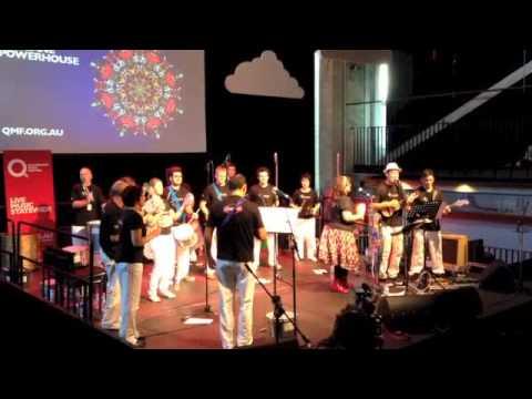 Afrobeat Brazilian Drums - Queensland Music Festival 2013 - Anunciação