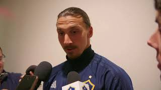 "Zlatan Ibrahimovic on #CaliClasico draw: ""Three goals should be enough to win."""