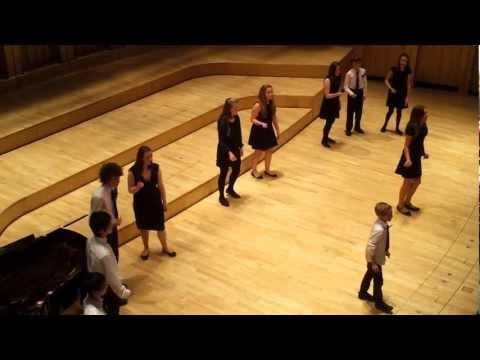 Cathedral School Llandaff House Singing Competition - Dyfrig Acapella