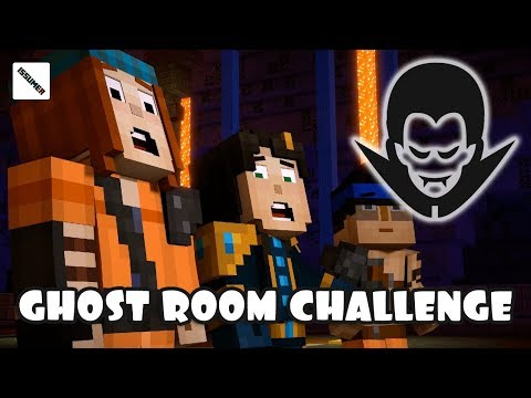 GHOST CHALLENGE ROOM - Minecraft Story Mode