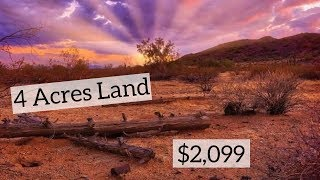 Build What You Want on This Land 4 Acres $2099
