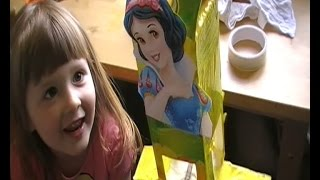 Character Crafts: How To Make A Snow White Bird Feeder