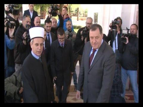 Milorad Dodik u Ferhadija džamiji