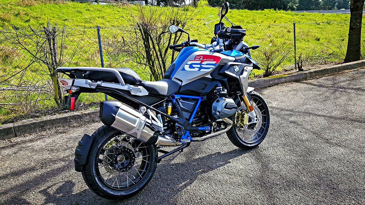 epic new bmw r1200gs rallye test ride and walk around bikereviews youtube. Black Bedroom Furniture Sets. Home Design Ideas