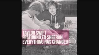 Taylor Swift - Everything Has Changed ft. Ed Sheeran (Instrumental)