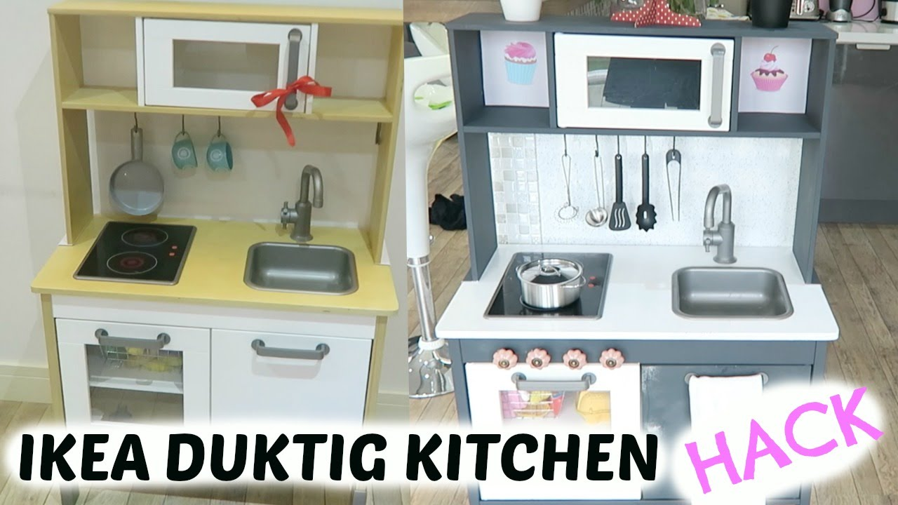 how to hack ikea duktig kitchen review youtube