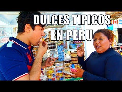 Dulces tipicos de Paracas - Venezolanos en Peru